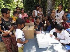 カンボジア洪水2011