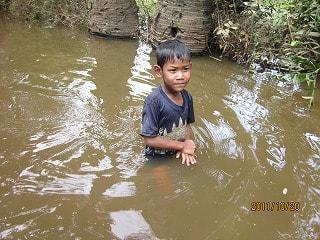 カンボジア洪水2011年